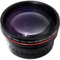 Vivitar 62MM 0.43x Professional Wide Angle Lens with Macro