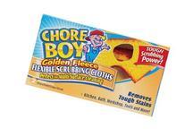 Chore Boy Golden Fleece Scrubbing Clothes