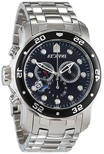"""Invicta Men's 0069 """"Pro Diver Collection"""" Stainless Steel"""