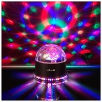OxyLED 51 Color RGB Auto Sound Activated 15W Mini Rotating