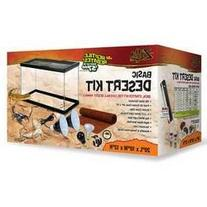 Zilla 01312 10-Gallon Basic Desert Kit, 10-Inch by 20-Inch