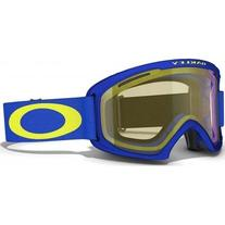 Oakley 02 XL Snow Goggle, Sapphire Blue with HI Yellow