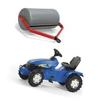 Kettler 036219 New Holland Pedal Tractor with Drum Roller