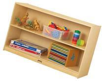 Jonti-Craft 0393JC Low Straight-Shelf Mobile Unit