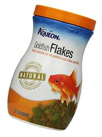 Aqueon 06044 Goldfish Flakes, 7.12-Ounce