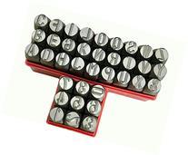 """1/2"""" 12.5MM Letter & Number Punch Stamp Set Metal-Steel-Hand"""