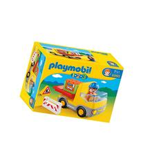 Playmobil 1.2.3 Construction Truck Play Set-MULTI-One Size