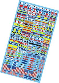 Alliance Model Works 1:350 US NAVY Flags and Pennants #
