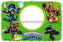 1/4 ~ Skylanders Swap Force Photo Frame Birthday ~ Edible
