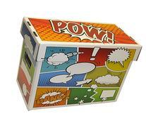 BCW Art POW! Short Comic Storage Box - Holds 150-175 Comics