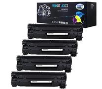 Cool Toner 4 Packs 85A Toner Compatible for HP 85A CE285A