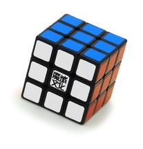 1 X 3x3x3 YJ Moyu Weilong Plus 57mm Black Version 2 Speed