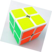 New Yj Moyu Lingpo 2x2x2 Speed Cube Puzzle Smooth 2x2 White
