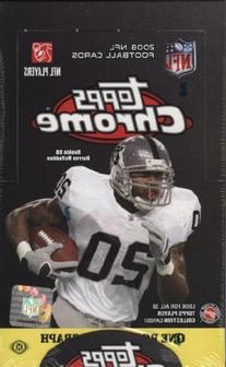 1  Box - 2008 Topps Chrome Football Hobby Box  - Possible