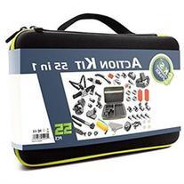 DeKaSi 55-In-1 Sport Accessory Kit for GoPro Hero4 Session
