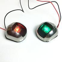 NEW PERFIT 12V 12 VOLT 1 GREEN & 1 RED LED VERTICAL