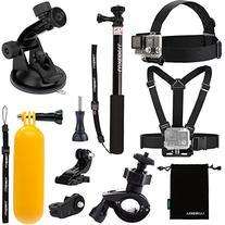 Luxebell Accessories Kit for AKASO EK5000 EK7000 4K WIFI