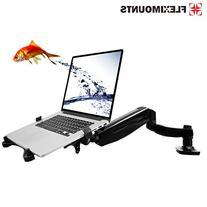 2 in 1 FLEXIMOUNTS L01 Full Motion Swivel LCD Arm,Desk