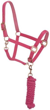 Tough 1 Tough-1 Neoprene padded Halter with Antique Hardware