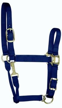 "Hamilton 8-11 1"" Nylon Adjustable Quality Horse Halter with"