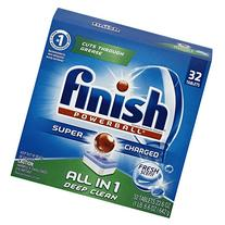 Finish All in 1 Powerball Fresh 32 Tabs, Automatic