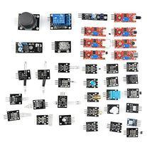 SainSmart 37 in 1 Sensor Module Kit for Arduino UNO R3