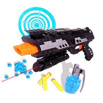 Tevelo 2-in-1 Shooting Gun Toy Foam Dart and Water Polymer