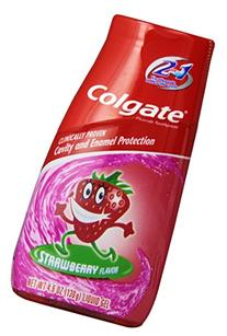 Colgate Kids 2-in-1 Toothpaste and Mouthwash, Strawberry, 4.