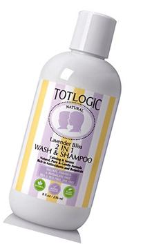 TotLogic Best 2 in 1 Wash & Shampoo Hair Care, Kids & Baby