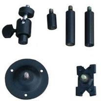 "VideoSecu 1/4"" x 20 Threads Swivel Security Camera Mount 2-6"