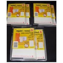 10,800 Z Laser Inkjet Multi Purpose Labels 1/2 x 3/4