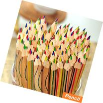 10 Pcs/lot Rainbow Color Pencil 4 in 1 Colored Pencils for