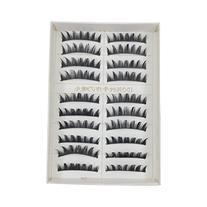 CAETLE® 10 Pair Long Black False Eyelashes Eye Lashes