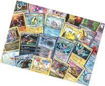 100 Assorted Pokemon Cards with Foils & Bonus Mew Promo