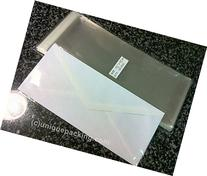 100 Pcs 4 5/16 X 9 3/4  Clear #10 Business Envelopes Bags -
