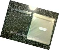 100 Pcs 6 7/16 X 6 1/4 Clear Resealable Cello Cellophane