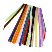 100 Multi-Colored Chenille Stems