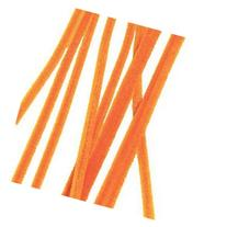 100 Orange Chenille Stems