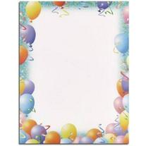 100 Party Letterhead Sheets