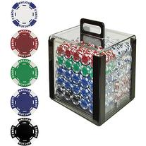 Trademark Poker 1000 11.5-Gram Hold 'Em Poker Chip Set with
