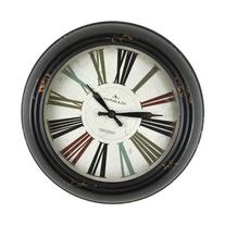 FirsTime 10049 Black Relic Wall Clock