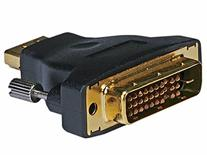 Monoprice 102689 M1-D  Male to HDMI Female Adapter, Gold
