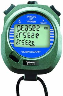 Thomas 1032 ABS Plastic Traceable Stopwatch, 1 Hr in 1/100