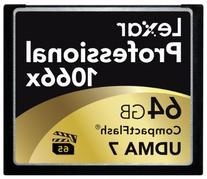Lexar Professional 1066x 64GB CompactFlash card