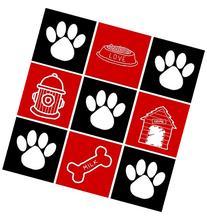 Appliance Art 10904 Appliance Art Dog Squares Dishwasher