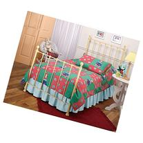 Hillsdale Furniture 1090BTWHTR Molly Bed Set with Rails and
