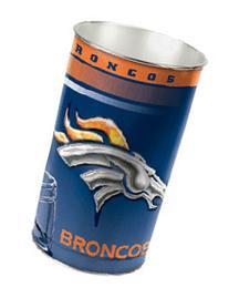 Casey 1094382018 Denver Broncos 15 Waste Basket