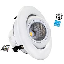 10W 4-inch Dimmable Gimbal Directional Retrofit LED Recessed