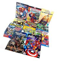 11 Pack DC & Marvel Coloring & Activity Books Batman