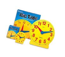11 Pack LEARNING RESOURCES BIG TIME CLOCK STUDENT 12 HR 5